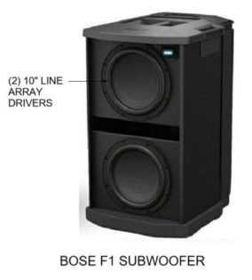 Bose F1 Subwoofer